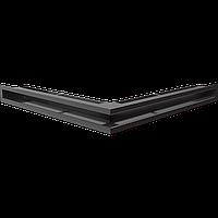 Вентиляционная решетка Люфт SF NS/60/C угловая черная, фото 1
