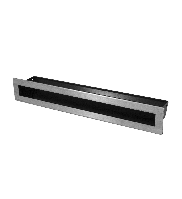 Вентиляционные решетки SLIM INOX 6x40, фото 1