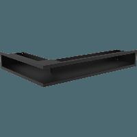 Вентиляционная решетка Kratki Люфт NP/9/40/C угловая черная, фото 1