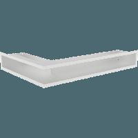 Вентиляционная решетка Люфт SF NP/9/40/B правая угловая белая, фото 1