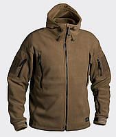 Флисовая куртка Helikon Patriot расцветка Coyote