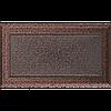 Вентиляционная решетка Kratki Oskar 17x30 см медная без жалюзи