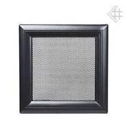 Вентиляційна решітка Kratki Oskar 11х32 см чорна, фото 1