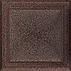 Вентиляционная решетка Kratki Oskar 22x22 см медная без жалюзи