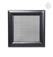 Вентиляционная решетка Kratki Oskar 11х42 см черная, фото 1