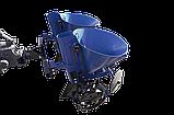 Картоплесаджалка дворядна ланцюгова з БДУ до мототрактору Преміум (фіксоване междурядие), фото 2