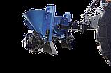 Картоплесаджалка дворядна ланцюгова з БДУ до мототрактору Преміум (фіксоване междурядие), фото 4