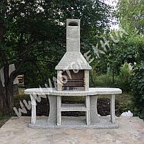 Камин барбекю «Каир» с двумя столами, фото 2