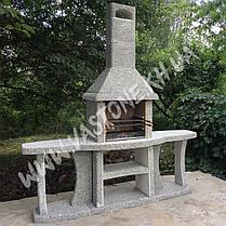 Камин барбекю «Каир» с двумя столами, фото 3