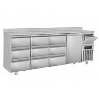 Холодильный стол барный - 2,7 x 0,6 м