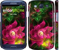 """Чохол на Samsung Galaxy S3 i9300 Абстрактні квіти 2 """"818c-11"""""""