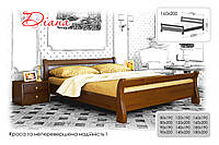 Деревянная кровать Диана Щит 80х190 см. Эстелла