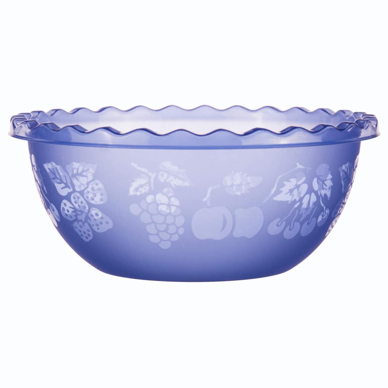 Таз для фруктов 9 л Синий