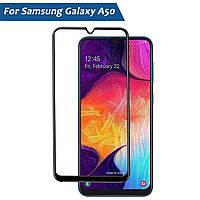 Защитное стекло Premium Tempered Glass 5D для Samsung Galaxy A50 2019 A505