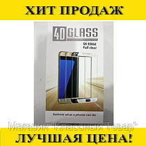 Панель передняя 4D GLASS S6 edge (Full clear, white, black, gold, blue)