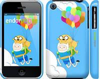 "Чехол на iPhone 3Gs Adventure time. Finn and Jake v3 ""2453c-34"""