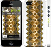"""Чехол на iPhone 5s Вышиванка 14 """"584c-21"""""""