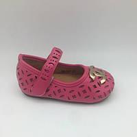 Туфли для девочки Chanel (23 размер) CotaDog Корея малиновые 68-137