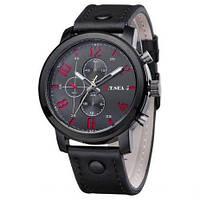 Часы наручные мужские O. T. SEA кварцевые, искусственная кожа, фото 1