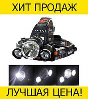 Фонарь налобный Headlamp RJ-3000-T6
