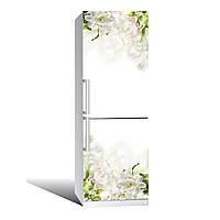 Наклейка на холодильник  Нежность  (виниловая наклейка, самоклейка, оклеить холодильник, декор )