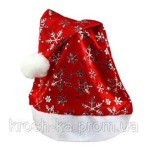 Новогодняя шапка Деда Мороза Китай 8800