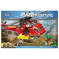 """КонструкторXingBao XB-14004 """"Пожарный вертолет""""761 деталь, фото 1"""