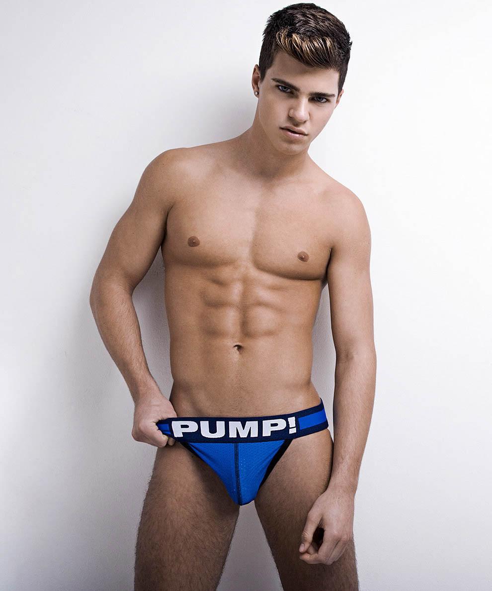 Мужское эротическое белье, сетка  Pump - №5481