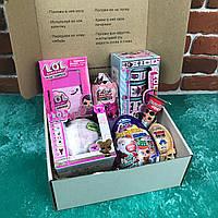 Подарочный Бокс City-A Box #67 для Девочки Детский Набор LOL из 7 ед.