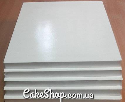 Подложка под торт усиленная 30х30 Белая