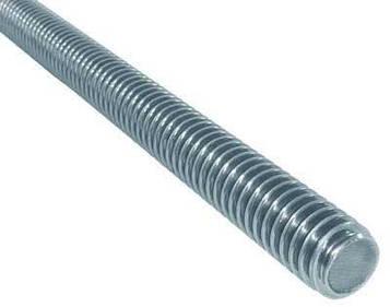 Шпилька  DIN 975  M10 х 2000 Класс 5.8 (Цинк) 1 шт