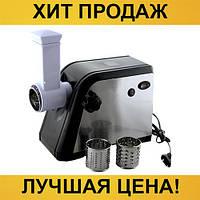 Электрическая мясорубка-соковыжималка Domotec MS-2020 BS 2600Вт