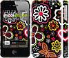 """Чехол на iPhone 4s Цветочный узор 1 """"2280c-12"""""""
