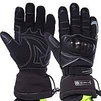 Мотоперчатки комбинированные с закрытыми пальцами SCOYCO MC15B-2 L