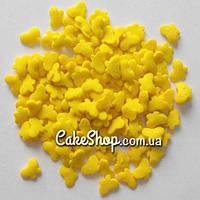 Посыпка сахарная Бабочки желтые, 50 г