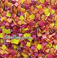 Посыпка сахарная Кленовые листья, 50 г