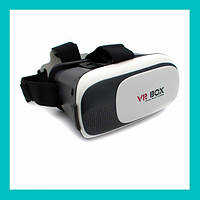 Очки виртуальной реальности VR BOX с пультом (белые)