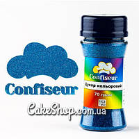 Сахар цветной голубой