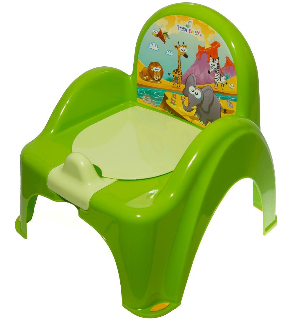 Горшок-стульчик Tega Safari SF-010 125 green