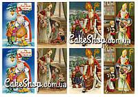 Сахарная картинка Святий Миколай 4