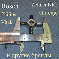 """Нож """"JUPITER 5"""" для мясорубки Bosch, Zelmer, Gorenje, Philips, Siemens, Vitek"""