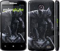 Чехол накладка для Lenovo A820 Batman v2