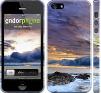 """Чехол на iPhone 5 Море """"2769c-18"""""""