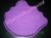 Форма силиконовая Корабль пиратский
