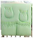 Детская постель Qvatro Ellite AE-08 аппликация  салатовый (мишка сидит с коричневым сердцем), фото 4