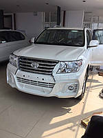 Комплект обвеса на Toyota Land Cruiser 200 Wald Black Bison Edition
