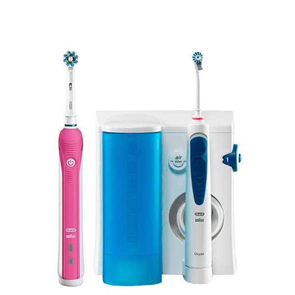 Зубний центр Oral-B OxyJet PRO2 2000 Pink ЄС