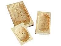 Форма для масла, деревянная 400 г.
