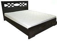 Кровать Лиана полуторная с ортопедическими ламелями