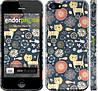 """Чехол на iPhone 5s Котята v4 """"1224c-21"""""""
